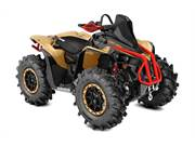 Gold, Black & Can-Am Red