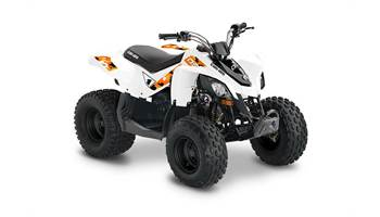 2019 Can-Am DS 70  white