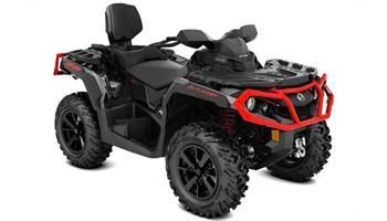 2019 OUTLANDER 650 MAX XT DPS BLK/RED