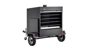 2018 Large Commercial Pellet Grill Trailer