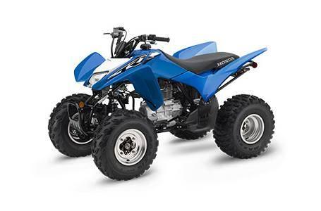 2019 trx250x Honda ATV Blue