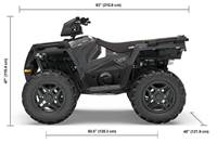 2019 Polaris Industries SPORTSMAN 570 SP MAGENTIC GRAY