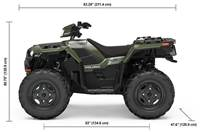 2019 Polaris Industries SPORTSMAN 850 SAGE GREEN
