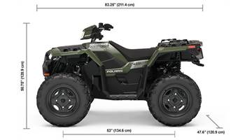 2019 SPORTSMAN 850 SAGE GREEN
