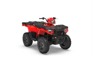 SPORTSMAN 450 H.O.RED