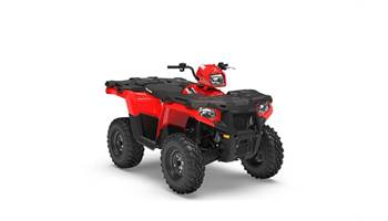 2019 A19SEA50B7  ATV-19, 450 SPMN HO INDY RED
