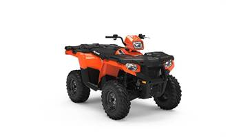2019 Sportsman 450 EPS LE. Orange Burst