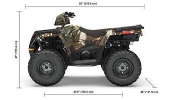 2019 SPORTSMAN 570 EPS PURSUIT CAMO