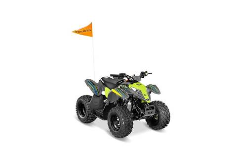 2019 Outlaw® 50 - Avalanche Gray/Lime Squeeze