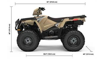 2019 Sportsman® 570 EPS LE - Military Tan Premium Ed.