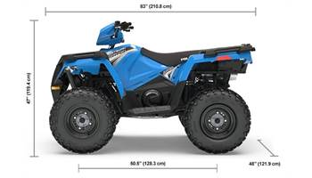 2019 SPORTSMAN 570 EPS VELOCITY BLUE