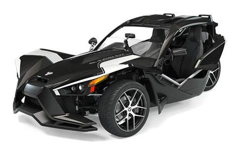 2019 Slingshot® Grand Touring - Black Crystal with White Pearl