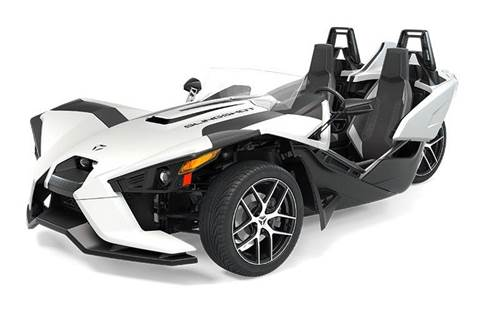 2019 Slingshot® SL - Icon Series Monument White
