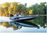 Stock Image: Z18 bass boat underway