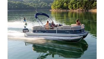 2019 PARTY BARGE® 22 RF XP3 150HP Blue