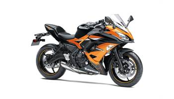 2019 NINJA 650 ABS ORANGE/BLACK