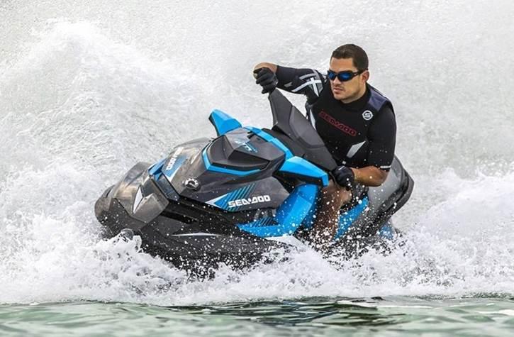 Man riding Sea-Doo® PWC