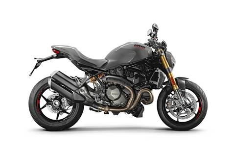2019 Monster 1200 S - Liquid Concrete Grey