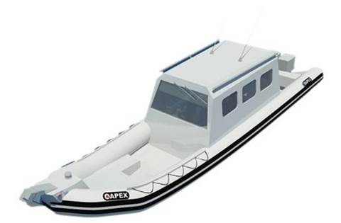 2019 APEX Inflatable Large Boat A-36 Inboard