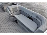 Stock Image: Pontoon Lounge Seat