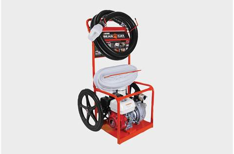 2019 FP2126 2 Inch Portable Fire Cart