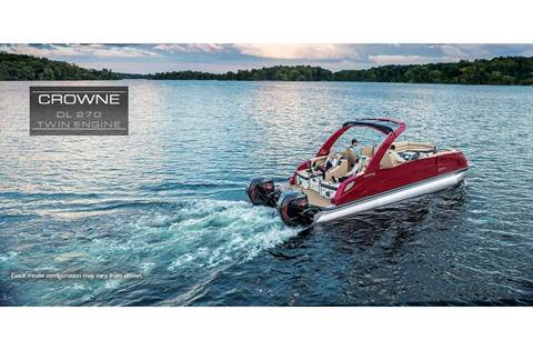 2019 Crowne DL 270 Twin Engine