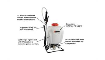 2019 MS-41BP - 4 Gallon Backpack Sprayer Piston Style