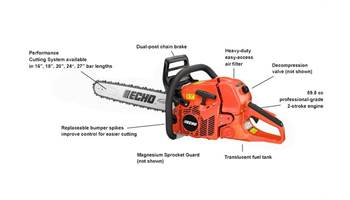 "2019 CS-620P 20"" - 59.8 cc X Series Rear Handle Chain Saw"