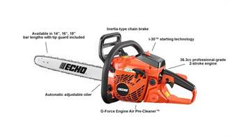 "2019 CS-370 16"" - 36.3 cc Chain Saw with i-30 Starter"