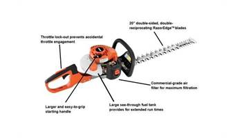 2019 HC-152 - 21.2cc Hedge Trimmer with 20 inch Blades