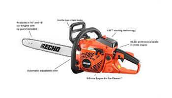"2019 CS-400 16"" - 40.2 cc Chain Saw with i-30 Starter"