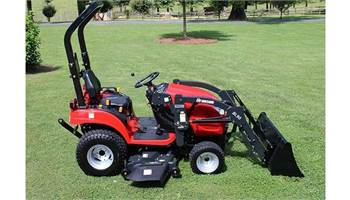 2019 1905H with LOADER AND BELLY MOWER!