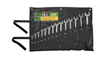 2019 TY19976 SAE combination wrench set, 14-pc.