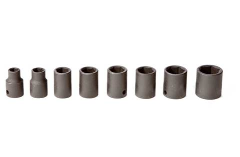 2019 TY27272 8-piece 3/8-in. Drive Metric Impact Socket Set