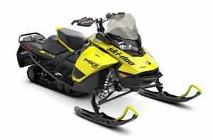 MXZ TNT® 850 E-TEC® - Sunburst Yellow/Black