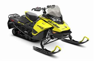 MXZ TNT® 600R E-TEC® - Sunburst Yellow/Black