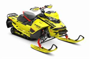 MXZ X-RS® 600R E-TEC® - Sunburst Yellow
