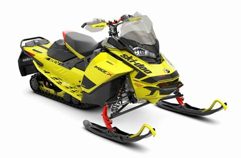 2020 MXZ X® 600R E-TEC® - Sunburst Yellow