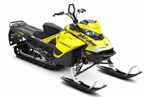 2020 Summit® X® 850 E-TEC® ES 154 - Sunburst Yellow