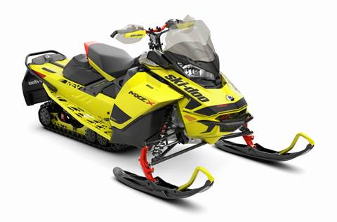2020 MXZ X® 850 E-TEC® - Sunburst Yellow