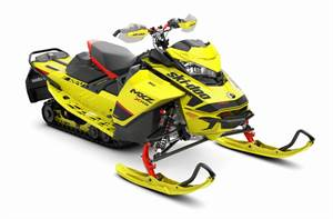 MXZ X-RS® 850 E-TEC® - Sunburst Yellow