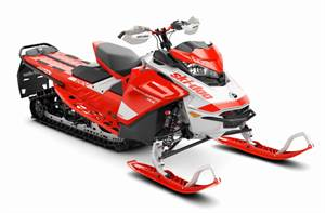 Backcountry X-RS® 850 E-TEC® SHOT 154 - Lava Red