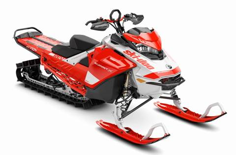 2020 Summit® X® w/Expert 850 E-TEC® SHOT 165 - Lava Red