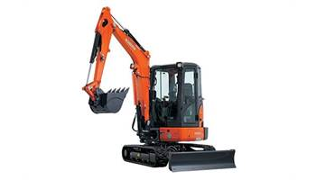 2019 KX033-4R1A Compact Excavator with Angle Blade