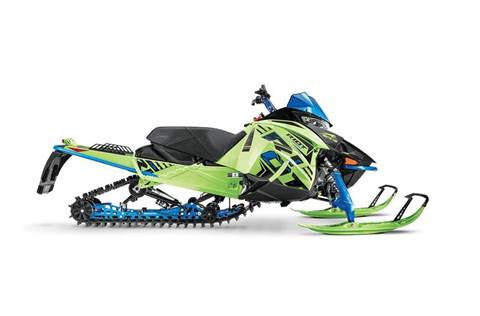 "2020 Riot 8000 146""/1.35"" ES Hyper Green/Electric Blue"