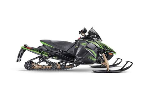 "2020 ZR Thundercat 137""/1.00"" w/iACT Black/Green"