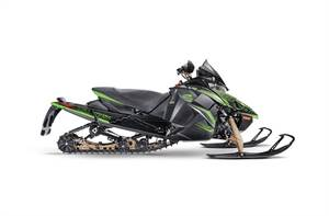 "ZR Thundercat 137""/1.00"" Black/Green"