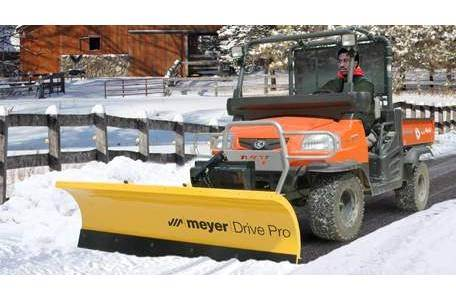 2019 Drive Pro 5' Power Angling Plow Pkg Euro 28000
