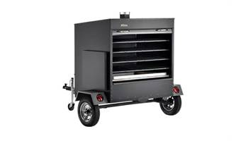 2019 Large Commercial Pellet Grill Trailer