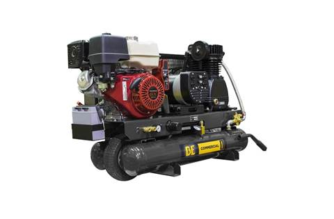2019 8 Gallon Wheeled Gas Compressor / Generator (AC138HEG2)